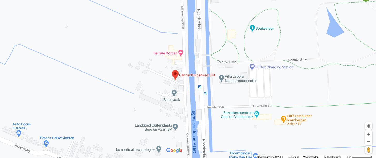 InnSaei praktijk op Google Maps